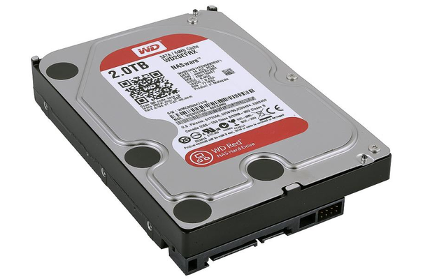 Жесткий диск HDD WD SATA3 2Tb Caviar Red 64Mb (WD20EFRX)