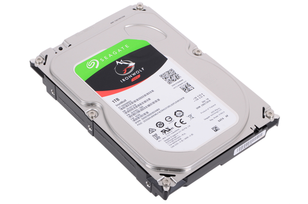Жесткий диск HDD Seagate SATA3 1Tb NAS 5900 RPM 64Mb (ST1000VN002)