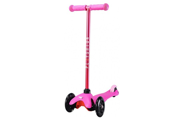 Детский самокат Playshion MINI KIDS LED FS-MS001LP (Pink)