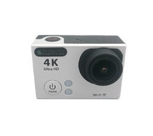 Камера для спорта 4K Zodikam Z90W Silver (Wi-Fi, 12МП, 3840x2160 Пикс, 170°, 2``, 900 mAh)