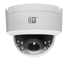 Купольная IP камера Space Technology ST-177 IP HOME POE (2МП, POE, 1920x1080, P2P, Onvif, IP64, ИК 30м, 2.8-12мм)